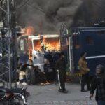 Cerca de 150 heridos en enfrentamiento entre Policía e islamistas en Pakistán