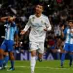 Liga Santander: Real Madrid con gol de Cristiano Ronaldo vence 3-2 al Málaga