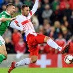 Repechaje europeo: Con ayuda del árbitro Suiza derrota 1-0 a Irlanda del Norte