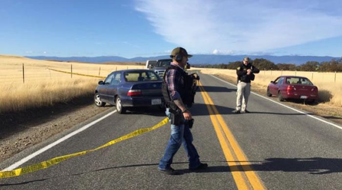 Tiroteo en California, EEUU, tres personas muertas