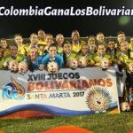 XVIII Juegos Bolivarianos: Colombia gana 213 medallas de oro y Perú 32