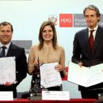 España fortalece la cooperación en infraestructura con Perú