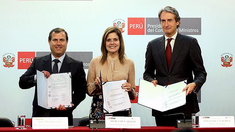España: Mercedes Aráoz destaca colaboración Perú
