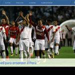 FIFA destaca a selección peruana en su página web