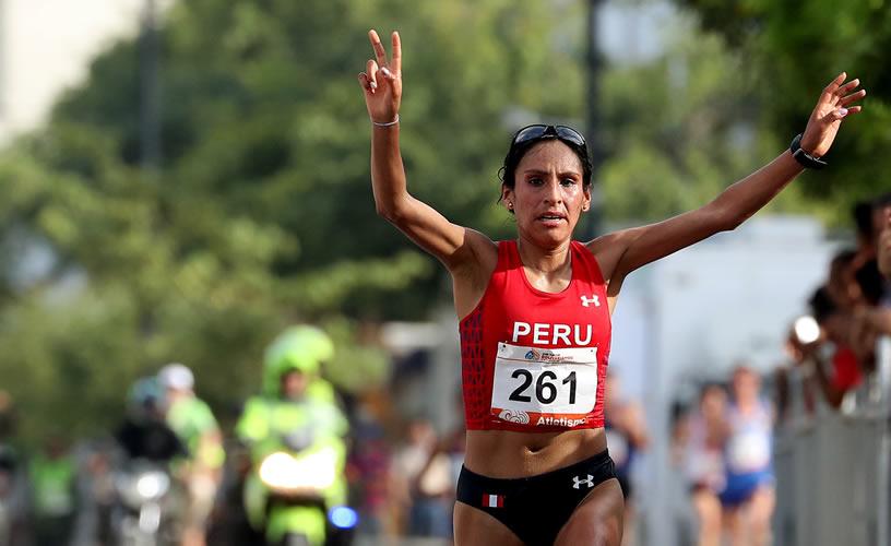 Gladys Tejeda logra medalla de oro en los Juegos Bolivarianos