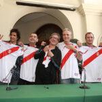 """Hombres G: """"Queremos ver al Perú en el Mundial"""""""