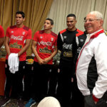 Kuczynski visitó a la selección peruana previo al partido ante Nueva Zelanda