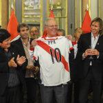 "Presidente Kuczynski: ""Haremos un Mundial con honor y victoria"""