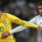 Brasil iguala 0-0 con Inglaterra en partido de preparación para el Mundial de Rusia