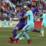 Liga Santander: Barcelona con doblete de Suárez golea 3-0 al Leganés