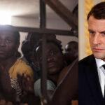 Macron: Subasta de migrantes en Libia es crimen contra la humanidad (VIDEO)