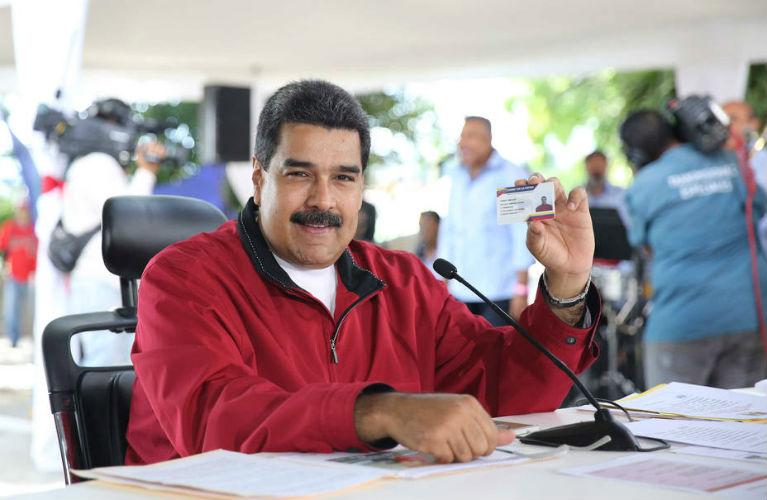 Maduro anuncia un