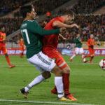 México en partido amistoso con festival de goles empata 3-3 con Bélgica