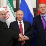 Rusia, Irán y Turquía confirman fin de la guerra en Siria y convocan a una cumbre