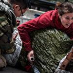 Periodistas de televisión resultan heridos en Siria