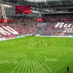 Corporación estatal rusa se viste de rojiblanco para apoyar a la selección