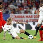 Champions League: Sevilla cerca a los octavos al ganar 2-1 al Spartak