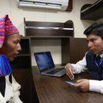 Puno: Reniec atiende en el lago Titicaca