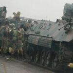 """Zimbabwe: Militares se levantan contra """"criminales"""" del entorno presidencial (VIDEO)"""