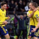Suecia sacó ventaja al ganar 1-0 a Italia en el partido de ida del repechaje