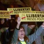 España: Miles de catalanes exigen liberación de Junqueras y exconsejeros (VIDEO)
