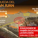 Argentina: Explosión se registró tras el último contacto con submarino (VIDEO)