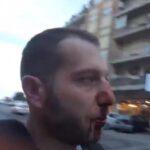 Detienen al agresor que rompió nariz a periodista italiano
