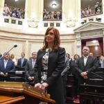 Argentina: Ex presidenta Cristina Fernández retornó al Senado  (VIDEO)