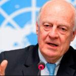 Enviado especial de ONU destacó proceso de paz en Siria tras derrota terrorista