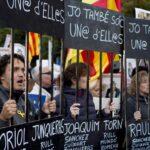 Miles de personas marchan en Barcelona por libertad de políticos en prisión