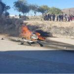 México: Dos policías mueren al caer helicóptero durante persecución (VIDEO)