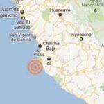Un sismo de magnitud 4.6 se siente en la costa central de Perú
