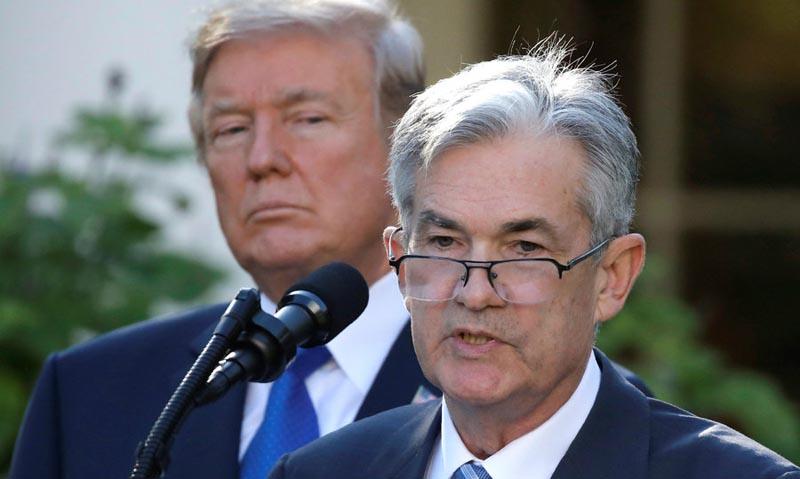 Jerome Powell se compromete a 'responder decididamente' a amenazas de la economía