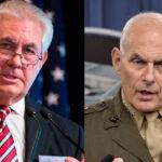 Casa Blanca comunica a Tillerson que son falsas informaciones sobre su despido