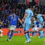 Premier League: Manchester City da un paso al título al ganar 2-0 al Leicester