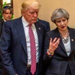 May tacha de error que Trump comparta videos de la ultraderecha británica