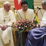 El Papa insta a Birmania a respetar cada grupo étnico, sin excluir a nadie
