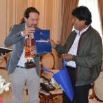 Líder de Podemos Pablo Iglesiasespera que Bolivia tenga el mar que se merece (VIDEO)