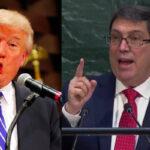 ONU: Canciller cubano señala que Trump no tiene autoridad moral para sus críticas (VIDEO)