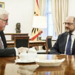 Schulz se reúne con la cúpula socialdemócrata tras consultas con Steinmeier