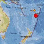 Un seísmo de magnitud 6.8 sacude las islas Tonga en el Pacífico Sur