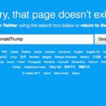 EEUU: Twitter suspendió por error la cuenta personal del presidente Trump