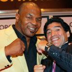 Maradona afirma: Es una vergüenza que no dejen a Mike Tyson entrar a Chile