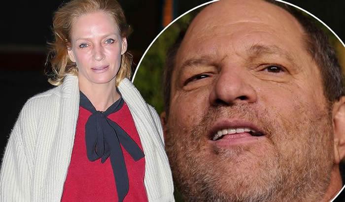 Uma Thurman, ¿víctima de Weinstein?