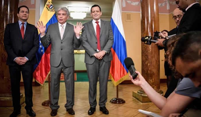 Venezuela y Rusia desarrollan mesas de trabajo para fortalecer cooperación mutua