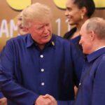 Putin y Trump se saludaron e intercambiaron unas palabras en cumbre APEC