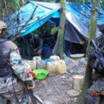 Policía destruye 3 narcolaboratoriosy 2 toneladas y media de insumos: VRAEM