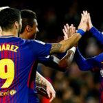 Barcelona en víspera del clásico ante Real Madrid golea 4-0 a La Coruña