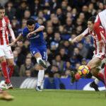 Premier League: Chelsea en su cierre del año apabulla por 5-0 al Stoke