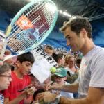 Copa Hopman: Roger Federer en su debut vence al japonés Yuichi Sugita